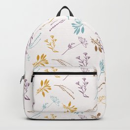 Sacred Dried Herb Bunches Backpack