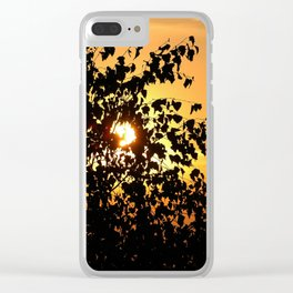 Aurora Clear iPhone Case
