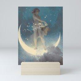 Spring Scattering Stars by Edwin Blashfield Mini Art Print