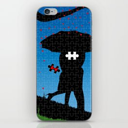 Missing Heart iPhone Skin