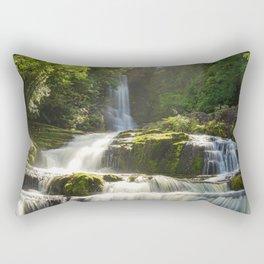 McLean Falls, New Zealand Rectangular Pillow