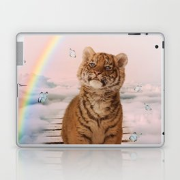 A tiger on the Rainbow Bridge Laptop & iPad Skin