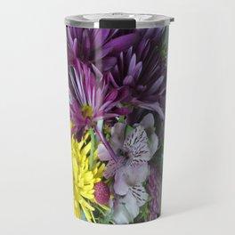 Mixed Flower 2 Travel Mug