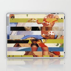 Glitch Pin-Up Redux: Farrah Laptop & iPad Skin