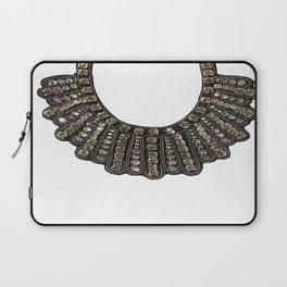 Ruth Bader Ginsburg's Dissent Collar RBG Laptop Sleeve