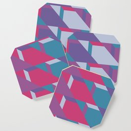 Abstract Drama #society6 #violet #pattern Coaster