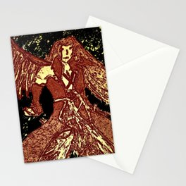 one winged angel Stationery Cards