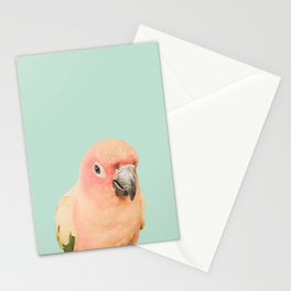 Birds of Paradise - pastel blue Stationery Cards