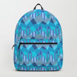 ZigZag All Day - Blue Backpack