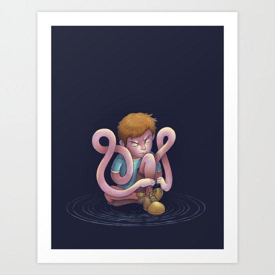 Mimic Art Print