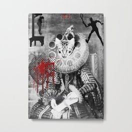 The High Priestess ( from the 'Bloody Tarot' series) Metal Print