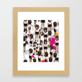 Kogal Parade Framed Art Print