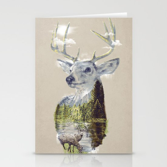 Mo'deer' Nature Stationery Cards
