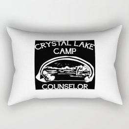 Camp Crystal Lake Counselor Rectangular Pillow