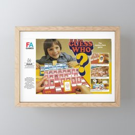 GuessWho 87 FA Cup Edition Framed Mini Art Print