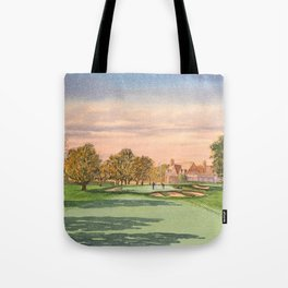 Winged Foot West Golf Course NY Tote Bag
