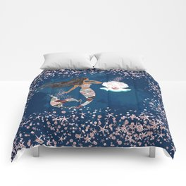 Black Mermaid Comforters