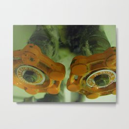 Sexual Industrial Metal Print