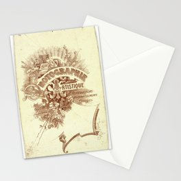 Vintage photo card 3 Stationery Cards