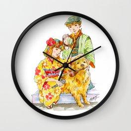 Kimono Kids vol.2 Wall Clock