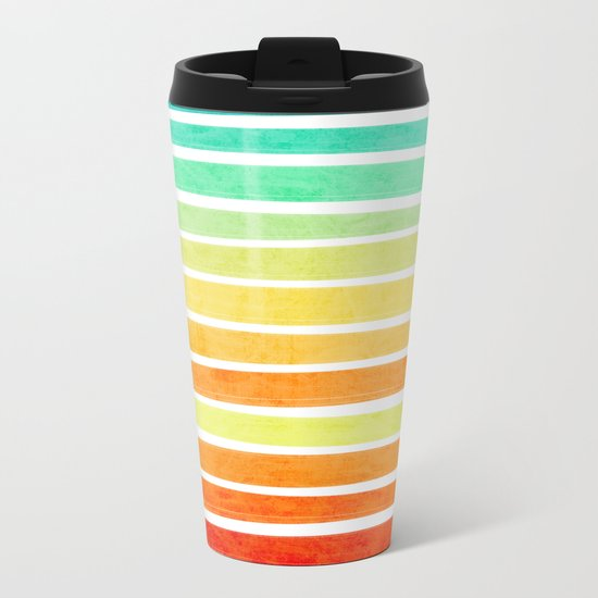 Tropic Metal Travel Mug