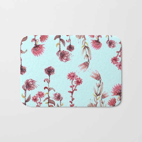 For Her (water color Garden!) Bath Mat