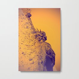Evanescent freedom  - Life is now Metal Print