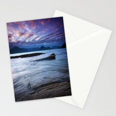 Sunset Over the Cuillin Stationery Cards