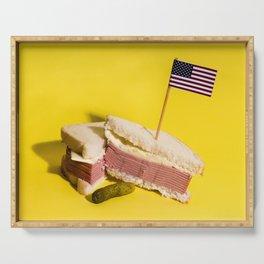 Donald Trump Sandwich Serving Tray
