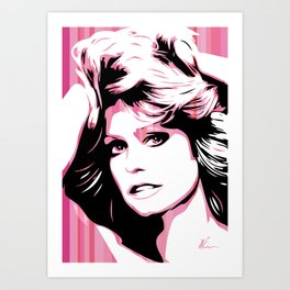 Farrah Fawcett | Pop Art Art Print