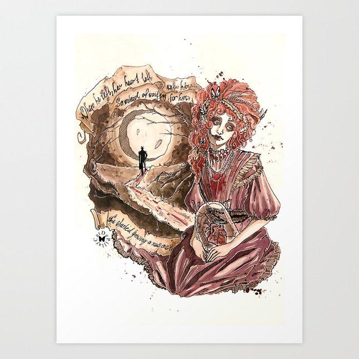 Growing A New Heart Art Print