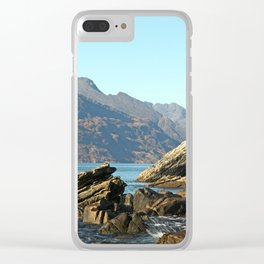 The gentle indifference of the world Clear iPhone Case