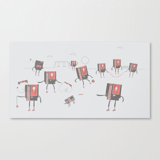 Go Play Outside Canvas Print