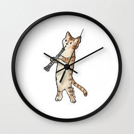 Reed Meowtet: Bobo Wall Clock