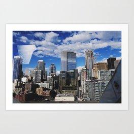 Seattle Industry Art Print