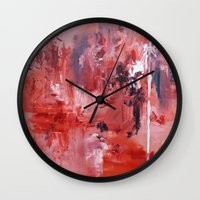 wander Wall Clocks featuring Wander by Andrea Welton
