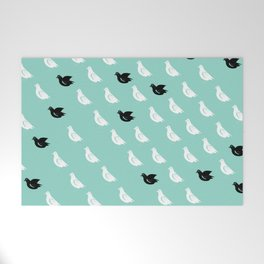 Flock of pigeons Welcome Mat
