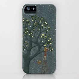 Star Tree iPhone Case