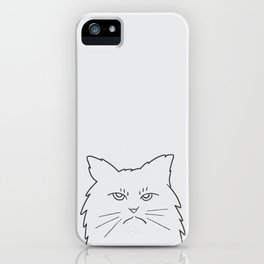 Angry Kitty iPhone Case