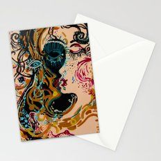 danae and shower of gold Stationery Cards