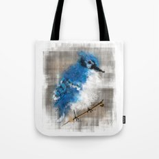 A Blue Jay Today Tote Bag