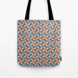 Peace is a Puzzle Print - Black Ground Tote Bag