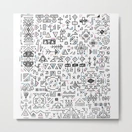 Geometric Wonder Metal Print