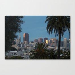 SF views Canvas Print