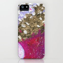 Abstraction World #1. Part 3 iPhone Case