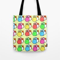 yoshi Tote Bags featuring yoshi by zamii070
