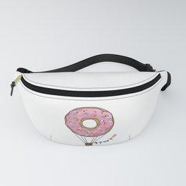 Donut Hot Air Balloon Fanny Pack