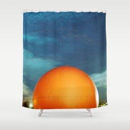 Gibeau Orange Julep Shower Curtain