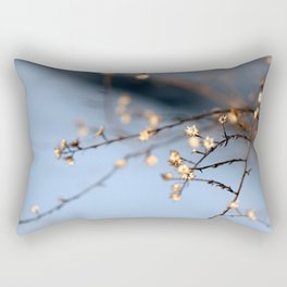 February Branches Rectangular Pillow
