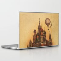 moscow Laptop & iPad Skins featuring Moving to Moscow by Terry Fan